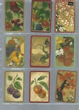 PLAYING *SWAP *CARDS*CHEAP AS CHIPS! 9 SINGLE ASSORT  DELUXE GOLD FRUITS 443