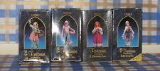 "4 NIB Fontanini 5"" Nativity Figures, Beth, Kenan, Carmi & Leora"