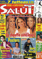 Magazine SALUT n°90,  BUFFY,  Britney SPEARS,  PRISCILLA,  LORIE, Ophélie WINTER
