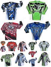 Wulfsport Cub Race Shirts Motorbike Motocross MX Leisure Kids Tops