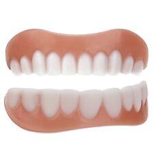 Sourire parfait Silicone Simulation Flex prothèse dentaire placage cosmétique