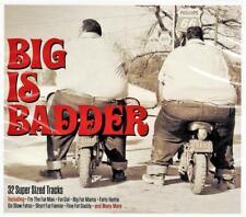 BIG IS BADDER - 25 SUPER SIZED TRACKS - VARIOUS ARTISTS (NEW SEALED 2CD)