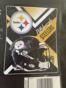NEW NFL Pittsburgh Steelers Oversized 55x70 Super Soft Silk Touch Throw Blanket