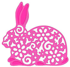 Sweet Dixie Bunny Rabbit Die -  Easter Dies SDD048 Cut Emboss Stencil