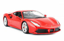 Bburago 1:24 Ferrari 488 GTB Diecast Model Sports Racing Car Vehicle Toy IN BOX