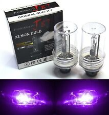 HID Xenon D2R Two Bulbs Head Light 12000K Purple Bi-Xenon Replace Lamp Low Beam