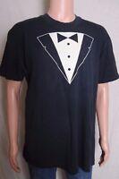 Vintage 90s Applause Workshop Theatre tuxedo style souvenir black t shirt L