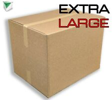 More details for 10x extra large (xxl) cardboard boxes - strong double wall removal moving boxes