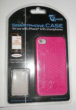 w.o..Tek Guardz Smart Phone Case I Phon 4/4s Smartphones Hot Pink
