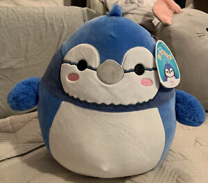 """Kelly Toys SQUISHMALLOWS 12"""" Babs Blue Jay (#467 - 9.25.2020) NWT"""