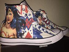 Converse Chuck Taylor All Star Hi DC Comic Wonder Woman 150466C Men 6 Womens 8