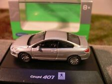1/87 Welly peugeot 407 Coupe plata 73111