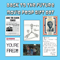 Back to the Future Movie Trilogy Replica Prop Gift McFly Clock Tower Flyer Flux