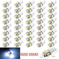 20Pcs Super White T10 Wedge 5-SMD 5050 LED Light bulbs W5W 2825 158 192 168 194