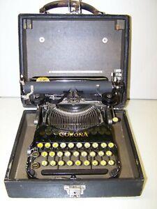 Antique 1918 Corona Model 3 Folding Vintage Typewriter  182475