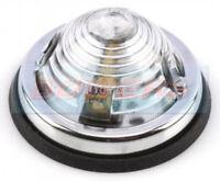 CLASSIC CAR CARAVAN MOTORHOME 70mm ROUND DOMED FRONT MARKER LAMP SIDE LIGHT
