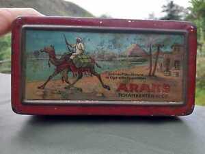 Vintage Cigarettes Tin. ARAKS CIGARETTES  Tin
