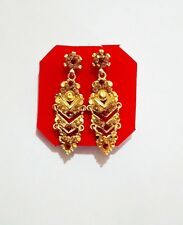 Gold Plated Earrings Bridal New Jewelry Indian Traditional Wedding Jhumki Jhumka