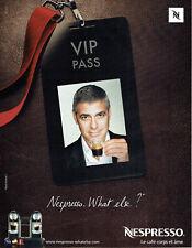 Publicité Advertising 028  2009   café Nespresso & George Clloney