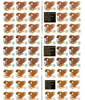 2595a 2596a 2597a 29 cent Eagle and Shield MNH Booklets 1992 Free Shipping
