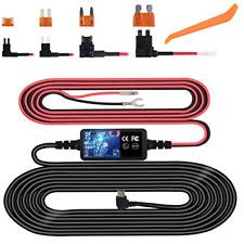 Dash Cam Hardwire Kit, Mini Usb Hard Wire Kit Fuse for Dashcam, Plozoe 12V-30V 4