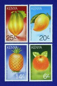 B046 KENYA 1996 Delicious Fruits set of 4 Mint NH
