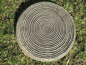 BAMBOO stepping stone garden ornament / other designs in my shop