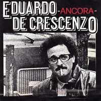 ADESIVO-EDUARDO DE CRESCENZO-ANCORA-ORIGINALE D'EPOCA cm 12 x cm 12