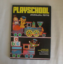 Playschool annual  1976 vintage copy