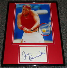 Jennifer Capriati Signed Framed 11x14 Photo Display
