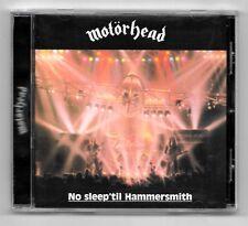 CD / MOTÖRHEAD - NO SLEEP'TIL HAMMERSMITH / 14 TITRES ALBUM 2004 COMME NEUF