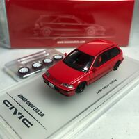 1/64 INNO64 HONDA CIVIC EF9 SiR Red W/ separate decals and extra Rims