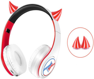 Darling in the Franxx Headphone with Horns Bluetooth Headset Anime 02 Design
