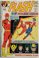 The Flash #213 VF 8.0 DC Comics 52 Page Bronze Age 25 cent Real Beauty!