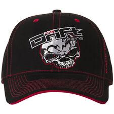 Drift Racing Adult Drift Racing Skull Baseball Cap Hat- Black / Red - 5245-506