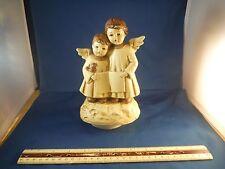 """Vintage Angel Children """"Silent Night"""" Music Box"""
