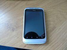 HTC Wildfire S - White (Orange Locked) Smartphone