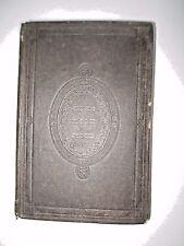 1863 LIFE & TIMES Nathan Bangs, Rare antique Methodist theology History bio NY