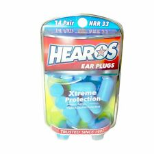 HEAROS Xtreme Protection Noise Cancelling Disposable Foam Earplugs NRR 33 Hea...