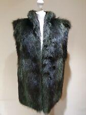 Vintage Fur Gilet Size 8/10