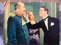 The Smiling Lieutenant 1931 Paramount lobbycard Maurice Chevalier Miriam Hopkins