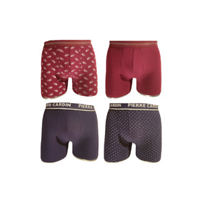 Pierre Cardin Lot de 4 Boxers homme coton stretch
