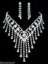 Special Occasion Rhinestone Costume Necklaces & Pendants
