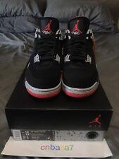 """Air Jordan Retro 4 IV OG Black Cenent Red """"bred"""" Size 12"""