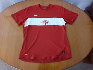 Spartak Moscow Shirt XL Nike 2009 2010 2009/10 Football Red