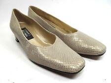 Stuart Weitzman Womens Snake Skin Animal Print Heels Pumps Shoes 7.5 SS