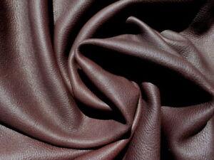 deerskin leather hide XL New Zealand Deer Auburn grainy texture Thick & Soft