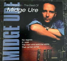 Midge Ure No Rgerets - The Best Of CD2000 Mick Karn Mark King Craig Armstrong