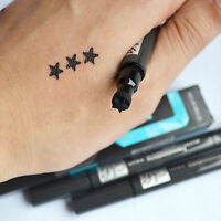 Black Liquid Eyeliner Eye liner Pen With Star Shape Stamp Waterproof Liner
