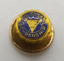 Vintage YMCA Service Membership Lapel Pin